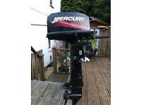 Mercury 4hp 2 stroke outboard boat engine