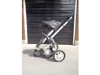 QUINNY BUZZ ROCKING BLACK PUSHCHAIR VERY GOOD CONDITION