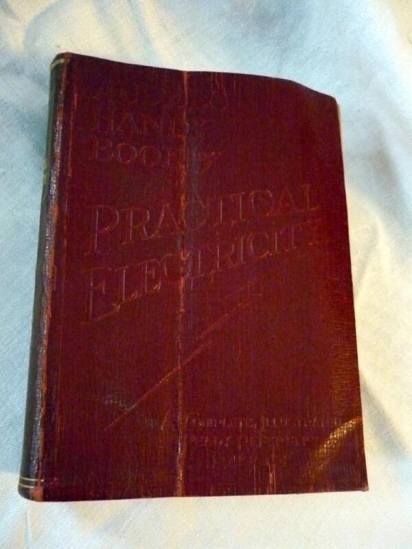 VINTAGE AUDELS HANDY BOOK OF PRACTICAL ELECTRICITY 1937