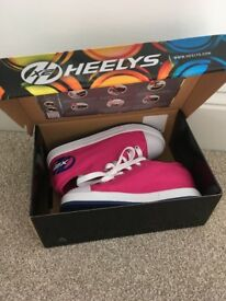 Pink HEELYS UK Size 2***new in box***
