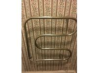 Unusual towel rail.