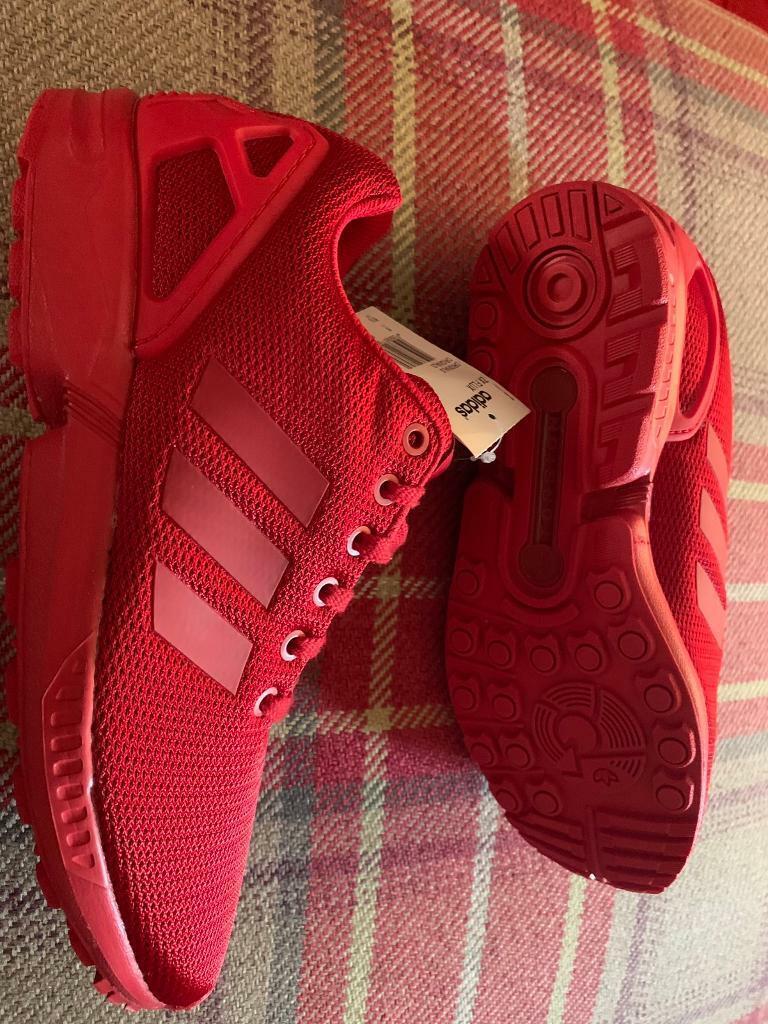 hot sale online 885d6 314ba ADIDAS ZX FLUX ORIGINALS ALL RED BRAND NEW UK8 | in Inverness, Highland |  Gumtree