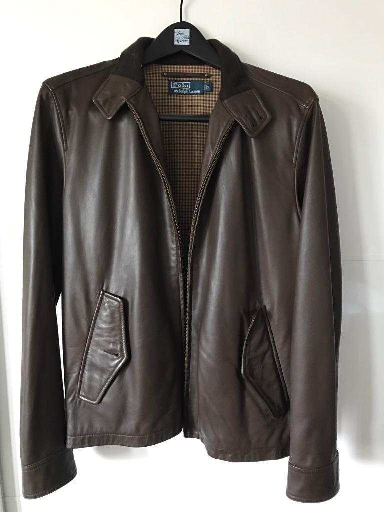 Mens jacket gumtree - Small Mens Leather Ralph Lauren Jacket
