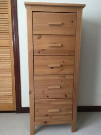5 drawer chest - Tallboy