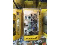 PS2 Dual Shock Controller -White