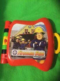 Fireman Sam electronic game book