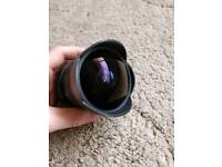 Samyang 8mm f3.5 fisheye lens (sony a mount)