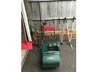 Lawnmower And Tools