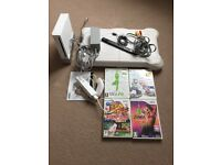 Nintendo Wii bundle including board