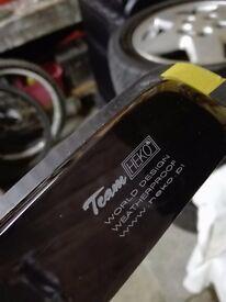Toyota Yaris wind deflectors - Team Heko