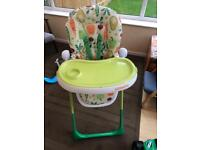 Cosatto Noodle Supa Highchair in Superfoods