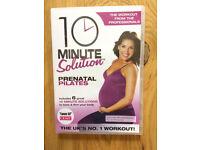 10 minute solution pre-natal Pilates DVD