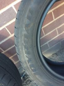 Part worn 205 55 R16 Tyres covered approx 1000 miles