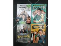 Scrubs season 1,2,3 and 4