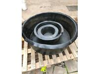 Free POND Lining solid plastic 3 parts