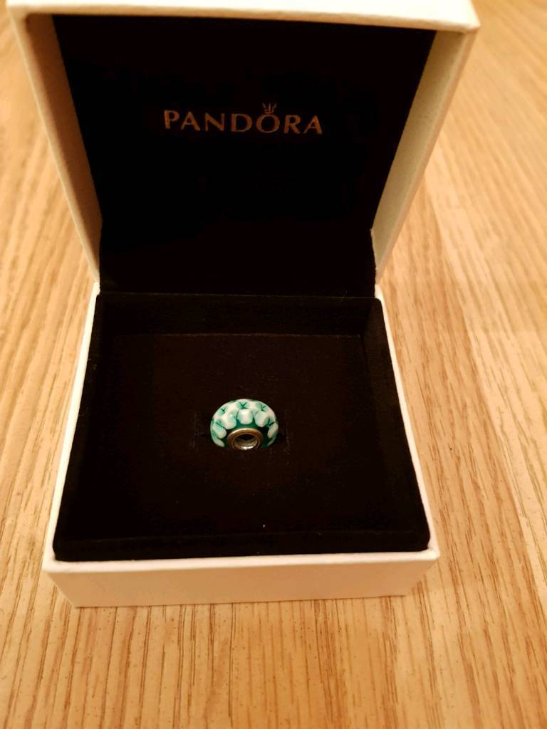 Glass Pandora charm