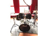 Pearl export full drumkit+lots of extras!! PRICE NOW REDUCED FOR QUICK SALE!!