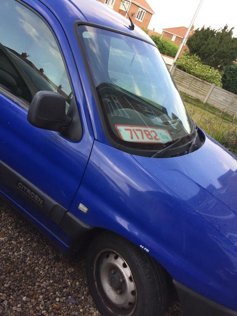 Citreon Berlingo. New clutch 11 Month Mot