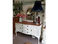 Vintage Sideboard with Mirror
