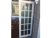 2 different types of internal white doors (will sell individually)
