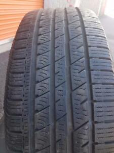 2 PNEUS ETE - CONTINENTAL 245 60 18 - 2 SUMMER TIRES