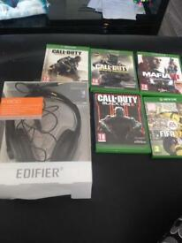 Mic and Xbox one games