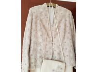 Mother of bride custom made dress and jacket