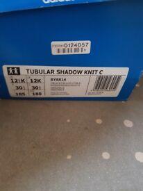 Brand new adidas tubular kids size 12
