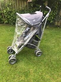 MACLAREN STROLLER WITH RAINCOVER