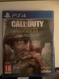 Brand new sealed call of duty for PS4