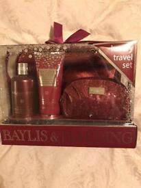 Bayliss & Harding luxury travel set