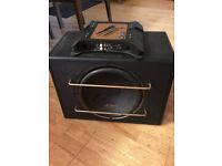 Powerful Sub and Amp for sale