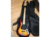 Squier Vintage Modified '77 Jazz Bass, 3 Tone Sunburst