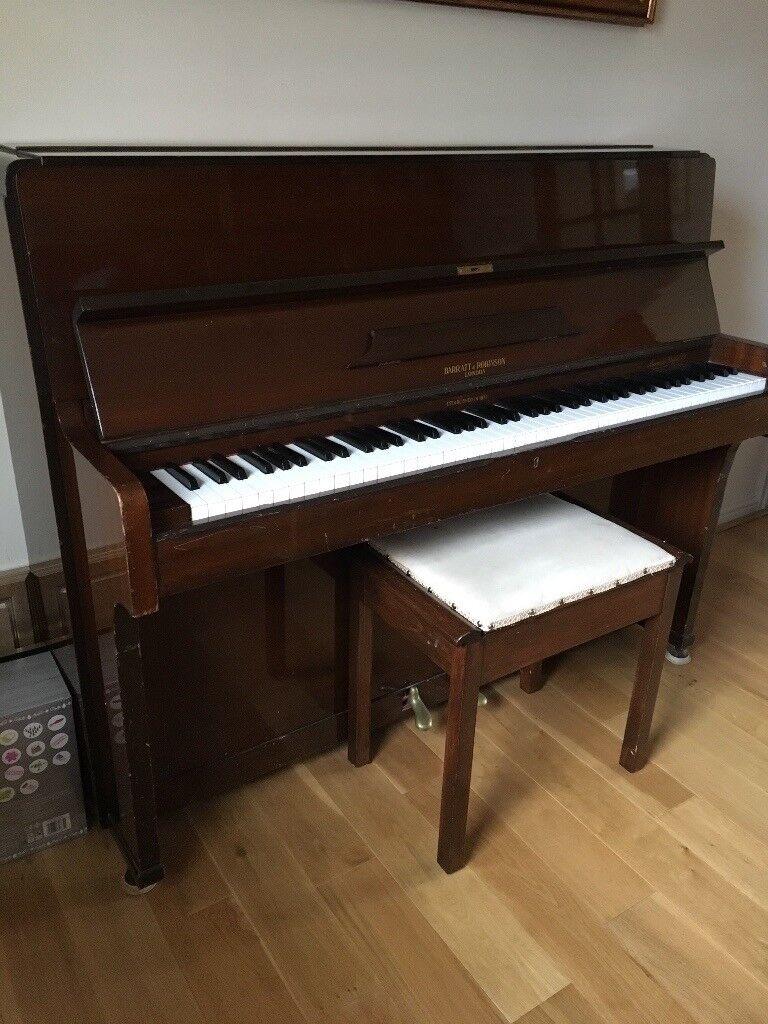 Upright Barratt & Robinson Piano For Sale