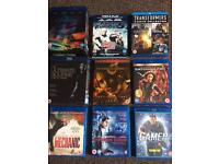 17 original blu ray movies including box sets