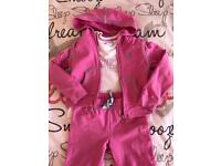 Guess tracksuit and top size 6