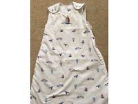 John Lewis baby sleeping bag 0-6 mths