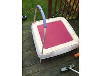Pink trampoline (small)