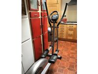 V fit programmable elliptical trainer