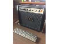 Engl Screamer 50w all valve guitar amp with z-5 foot switch and pro cover