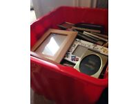 Assorted photo frames around 50 items