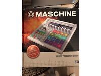 Maschine mk2 + maschine 2.0 software