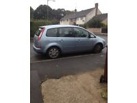 Ford Focus cmax light blue