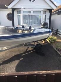 picton gts 150 speed boat and trailer