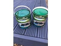 Culprinol decking paint x 2