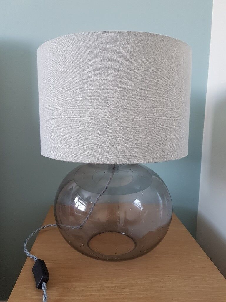 Large Grey Glass Bubble Table Lamp In Earley Berkshire Gumtree