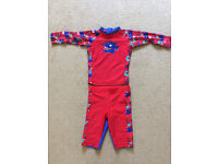 Set of two boys swimsuits 3-4years