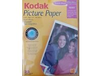 Kodak photo paper A4