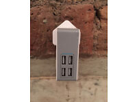 USB power charger - 4 port