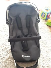 Full 3 piece quinny buzz travel system